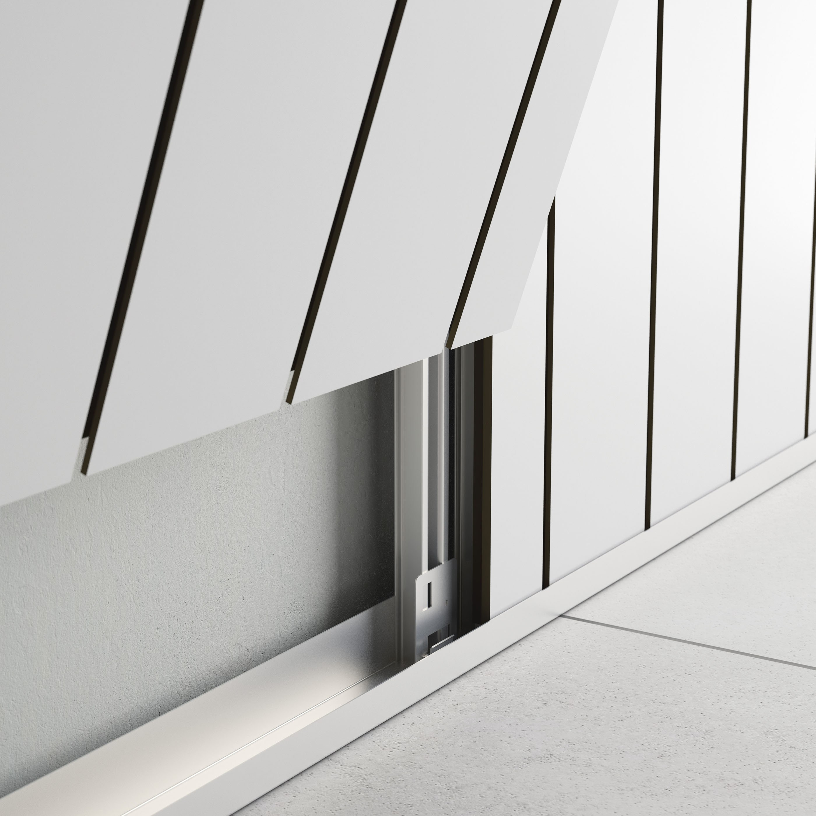 Sound Absorbing Mdf Wall Tiles Letwood By Fantoni