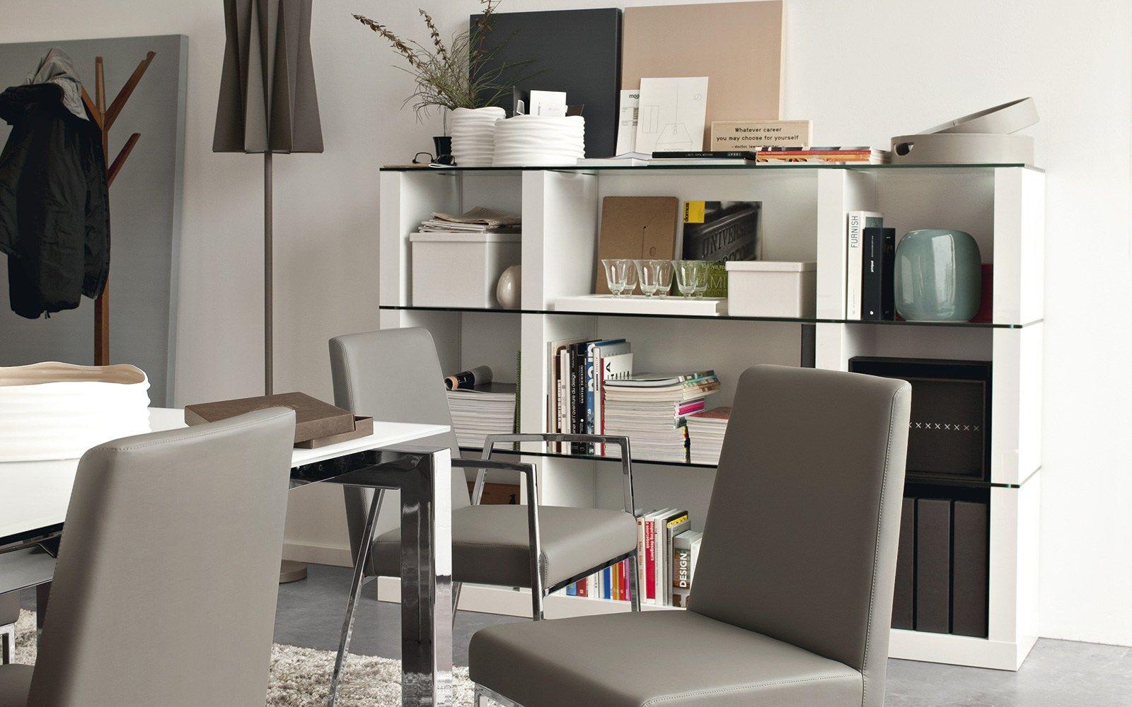 Lib modular bookcase by calligaris design stefano cavazzana for Calligaris lib