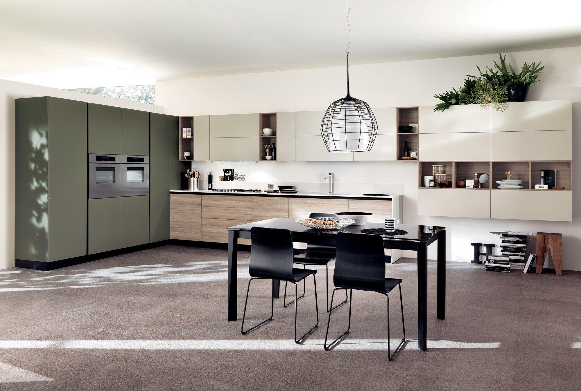 Cuisine int gr e liberamente ligne scavolini by scavolini design vuesse design - Cuisine integree ...