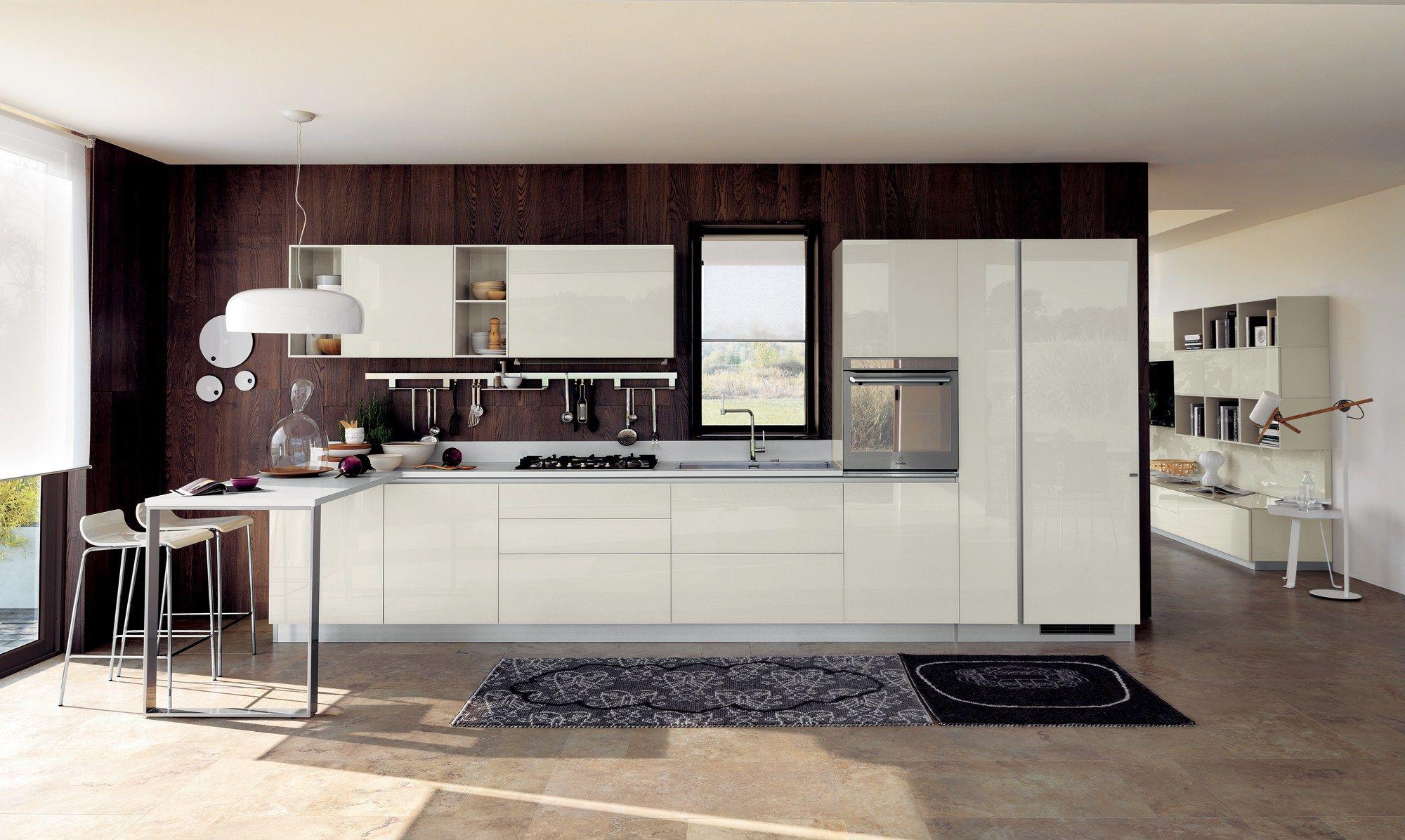 Cuisine int gr e liberamente ligne scavolini by scavolini design vuesse design for Cuisine integree