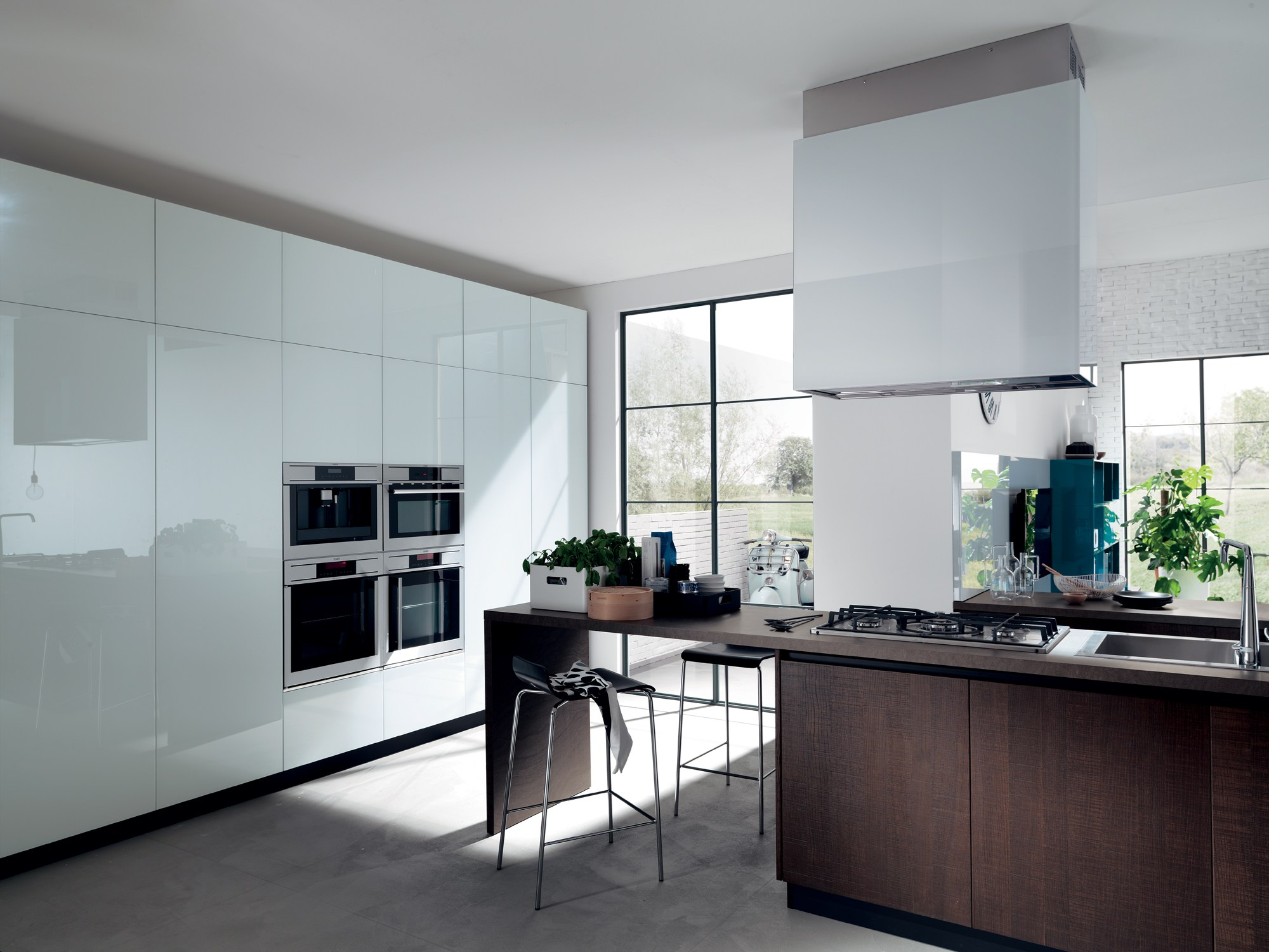 Cucina componibile liberamente linea scavolini by - Cucine scavolini basic ...