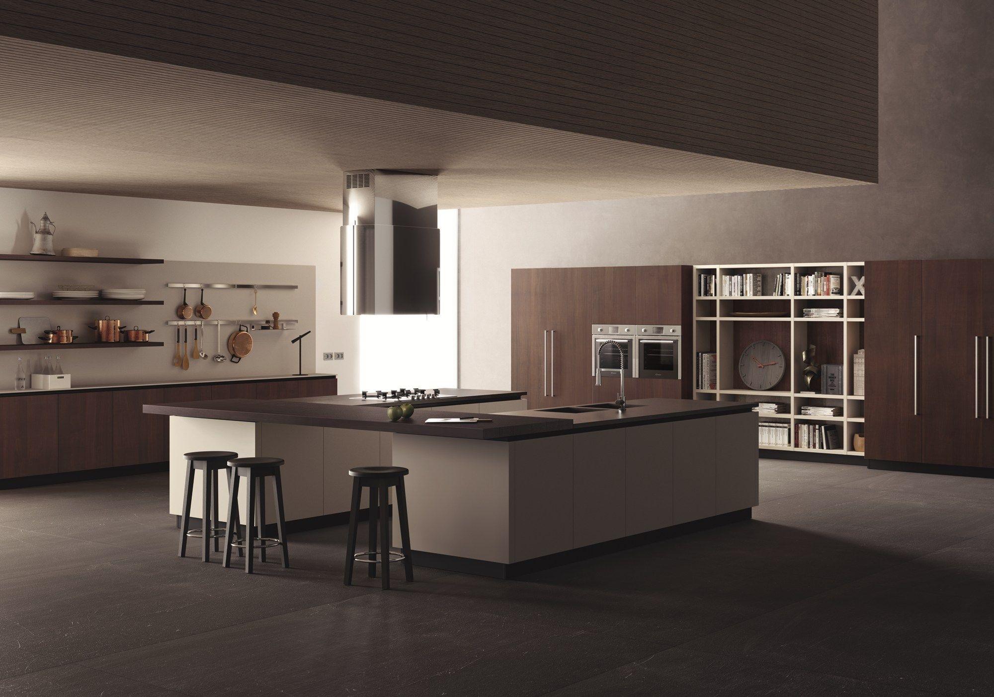 Fitted kitchen liberamente scavolini line by scavolini design vuesse design - Kitchens scavolini ...