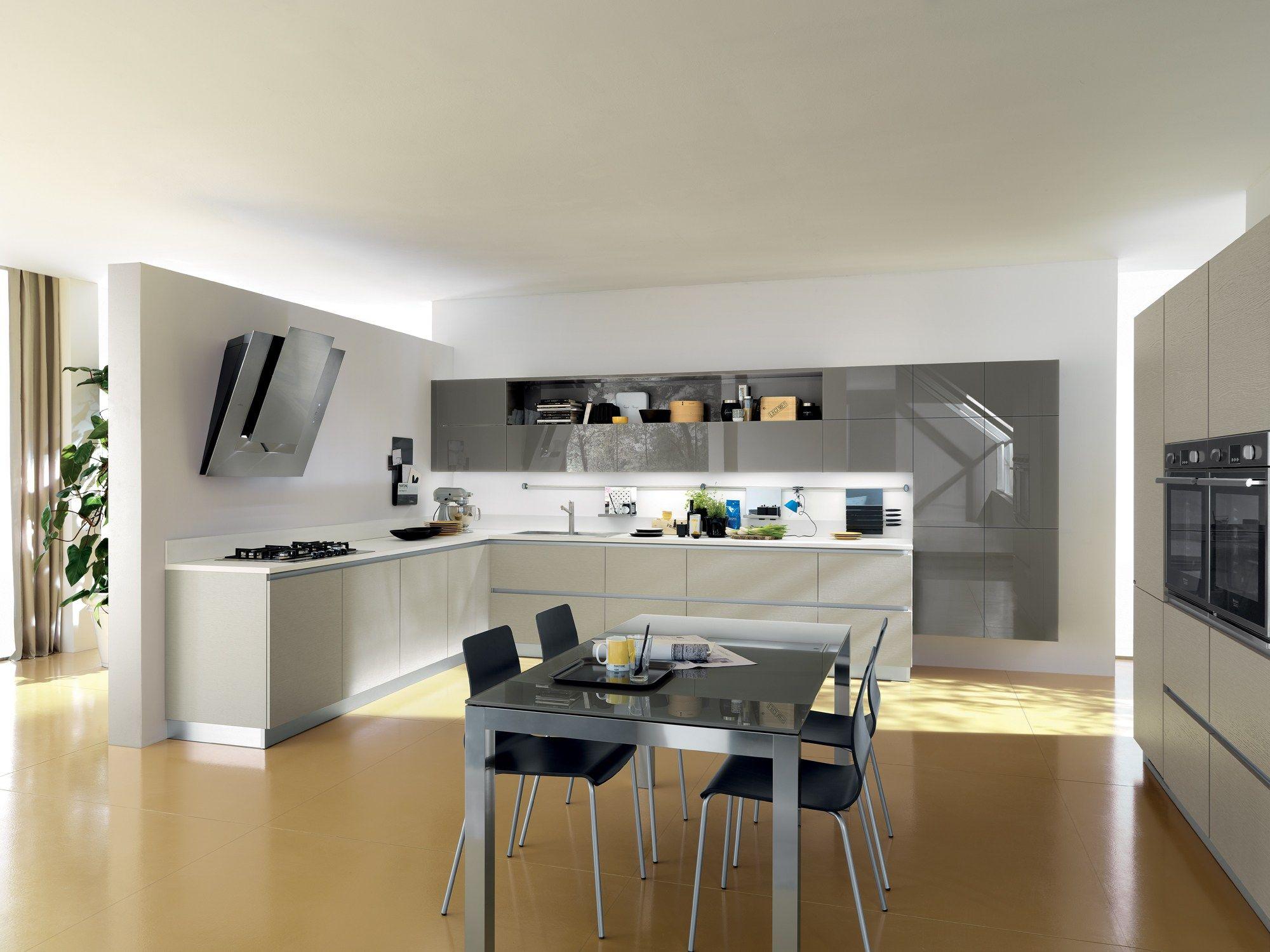 Fitted kitchen liberamente scavolini line by scavolini design vuesse design - Software cucine 3d ...