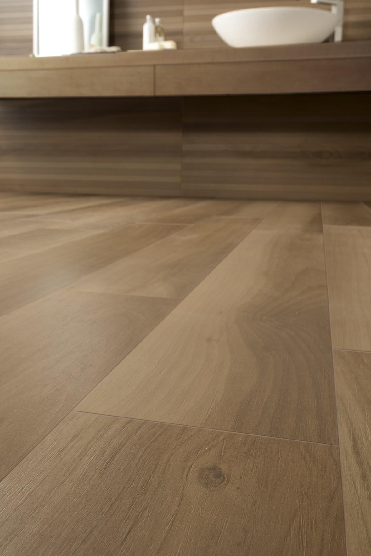 Wall Floor Tiles With Wood Effect LIFE WALNUT By Ceramiche Caesar