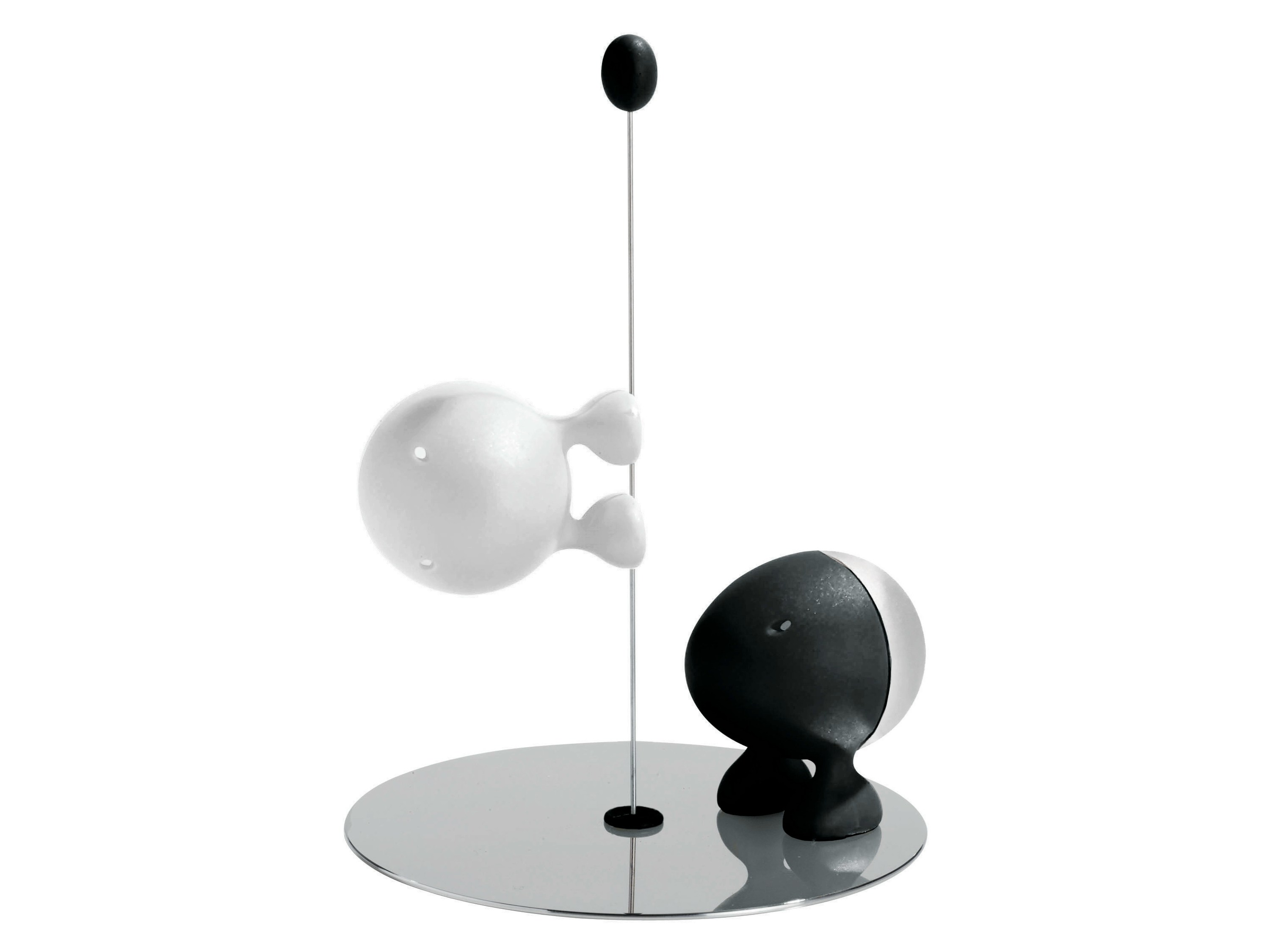 Thermoplastic resin salt and pepper shaker lilliput by for Alessi salt and pepper shakers
