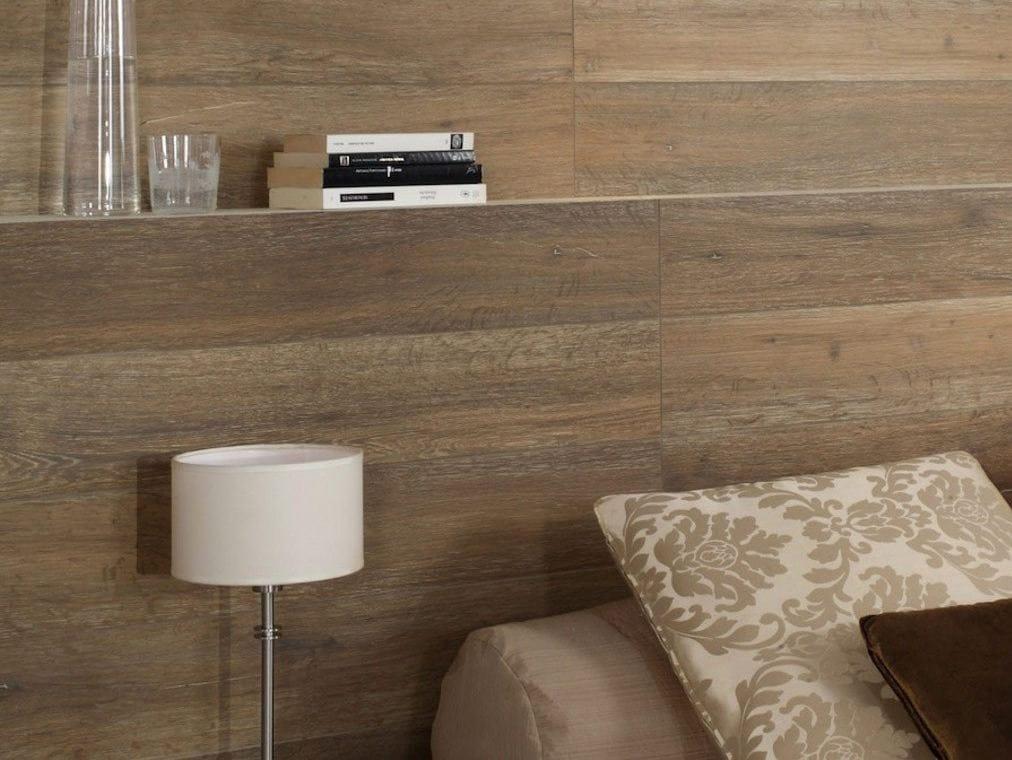 Pavimento rivestimento in gres porcellanato effetto legno for Pareti originali per interni