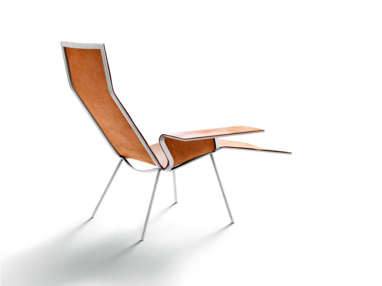 chaiselongue aus gegerbtem leder ll04 by de padova design. Black Bedroom Furniture Sets. Home Design Ideas