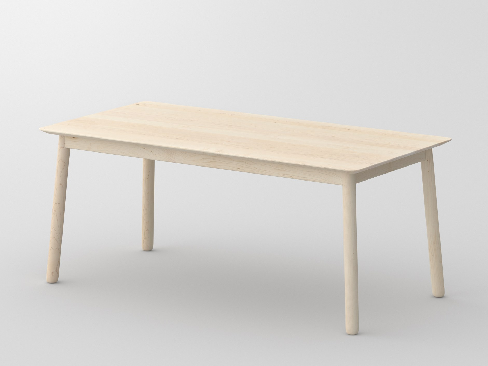 LOCA Di Vitamin Design è Un Tavolo Da Pranzo Rettangolare In Legno  #7C6950 1881 1411 Mercatone Uno Tavoli Per Soggiorno