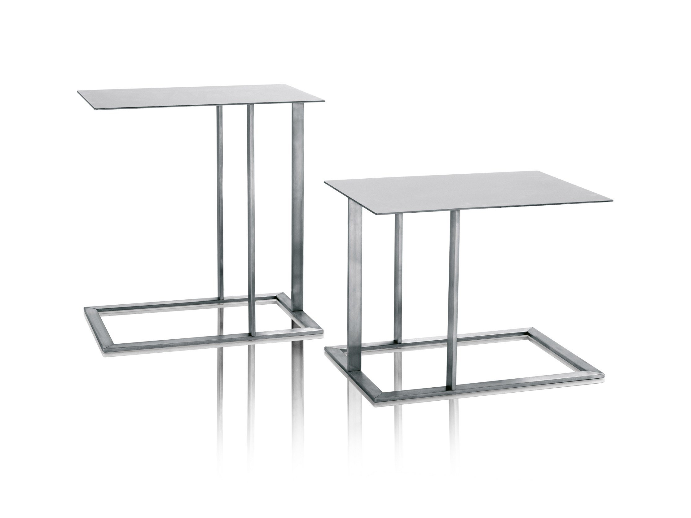Stainless Steel Side Table Loft By Arketipo Design Massimo