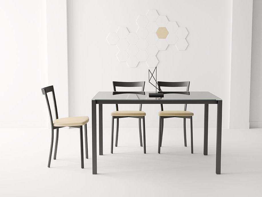 table de cuisine rectangulaire logic by cancio. Black Bedroom Furniture Sets. Home Design Ideas