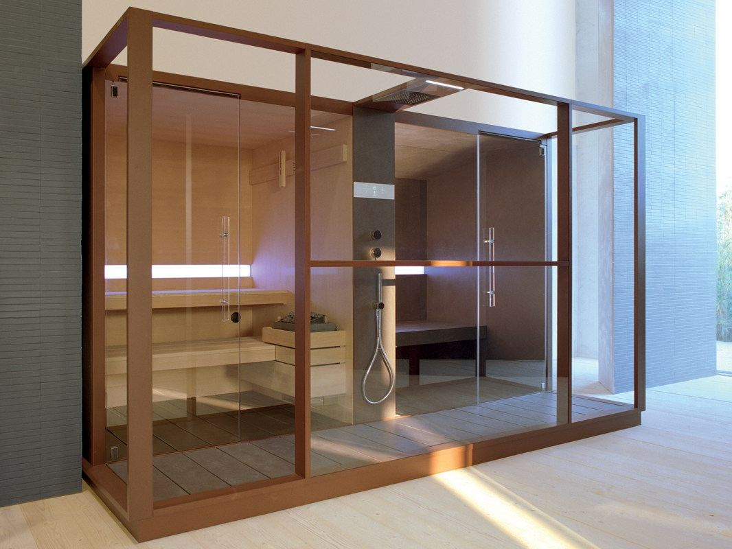 sauna turkish bath logica by effegibi. Black Bedroom Furniture Sets. Home Design Ideas