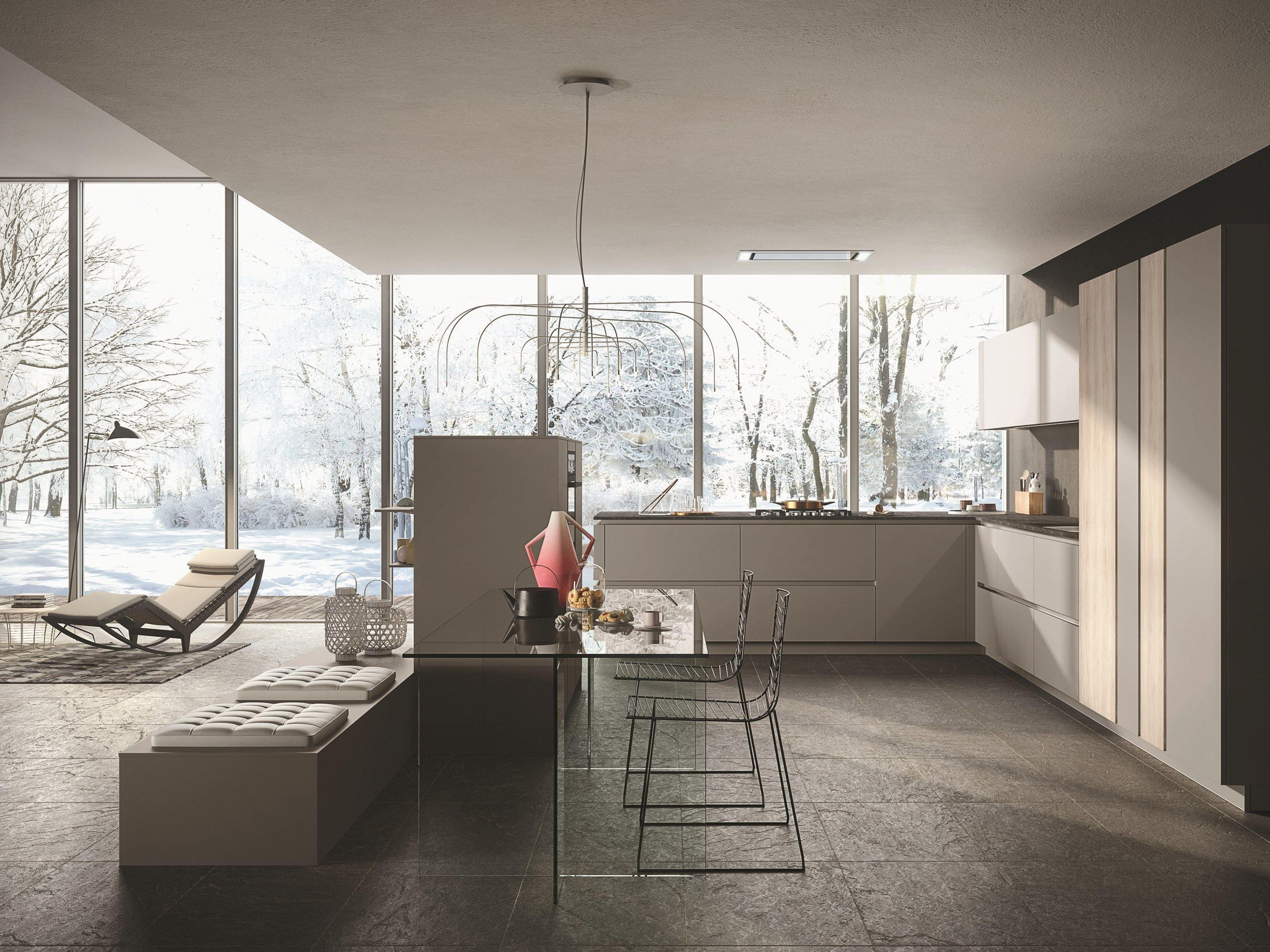 LOOK Cucina laccata by Snaidero design Michele Marcon