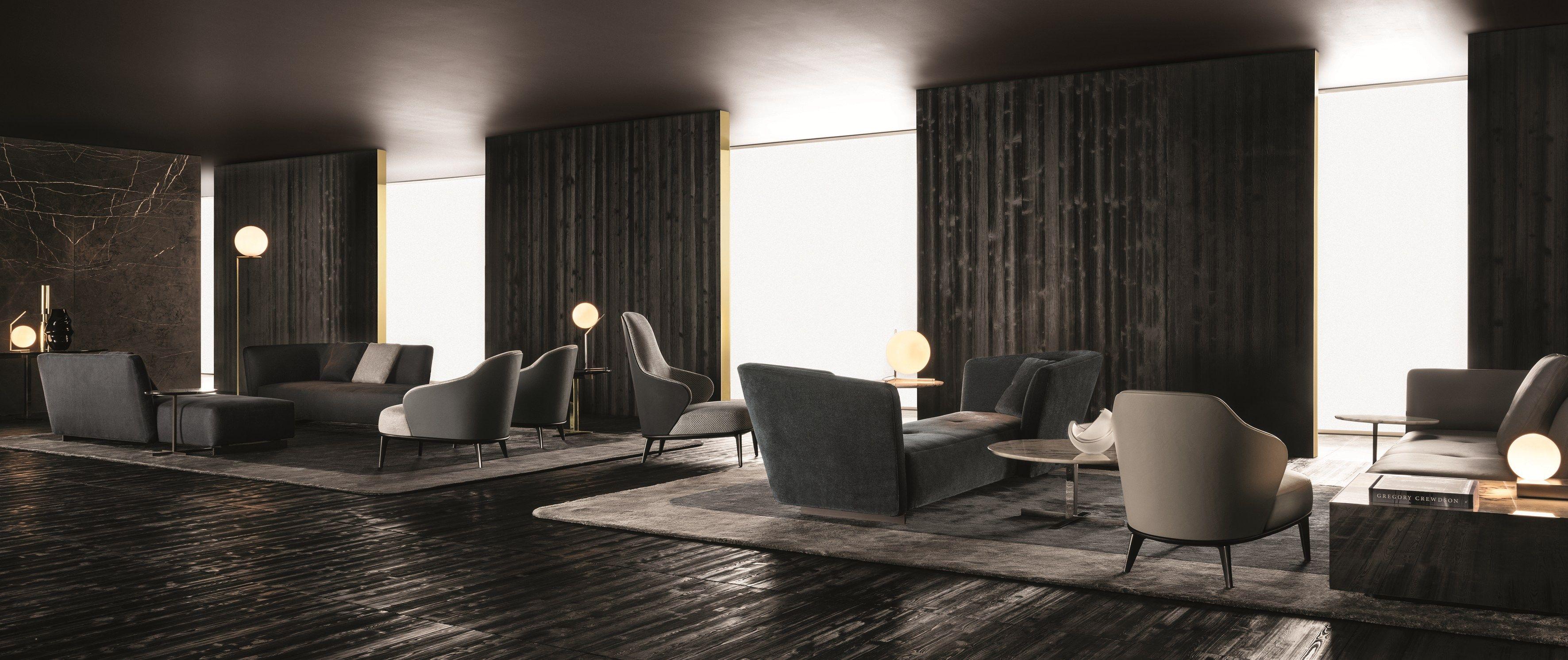 Lounge seymour by minotti design rodolfo dordoni for Arredare milano indipendenza