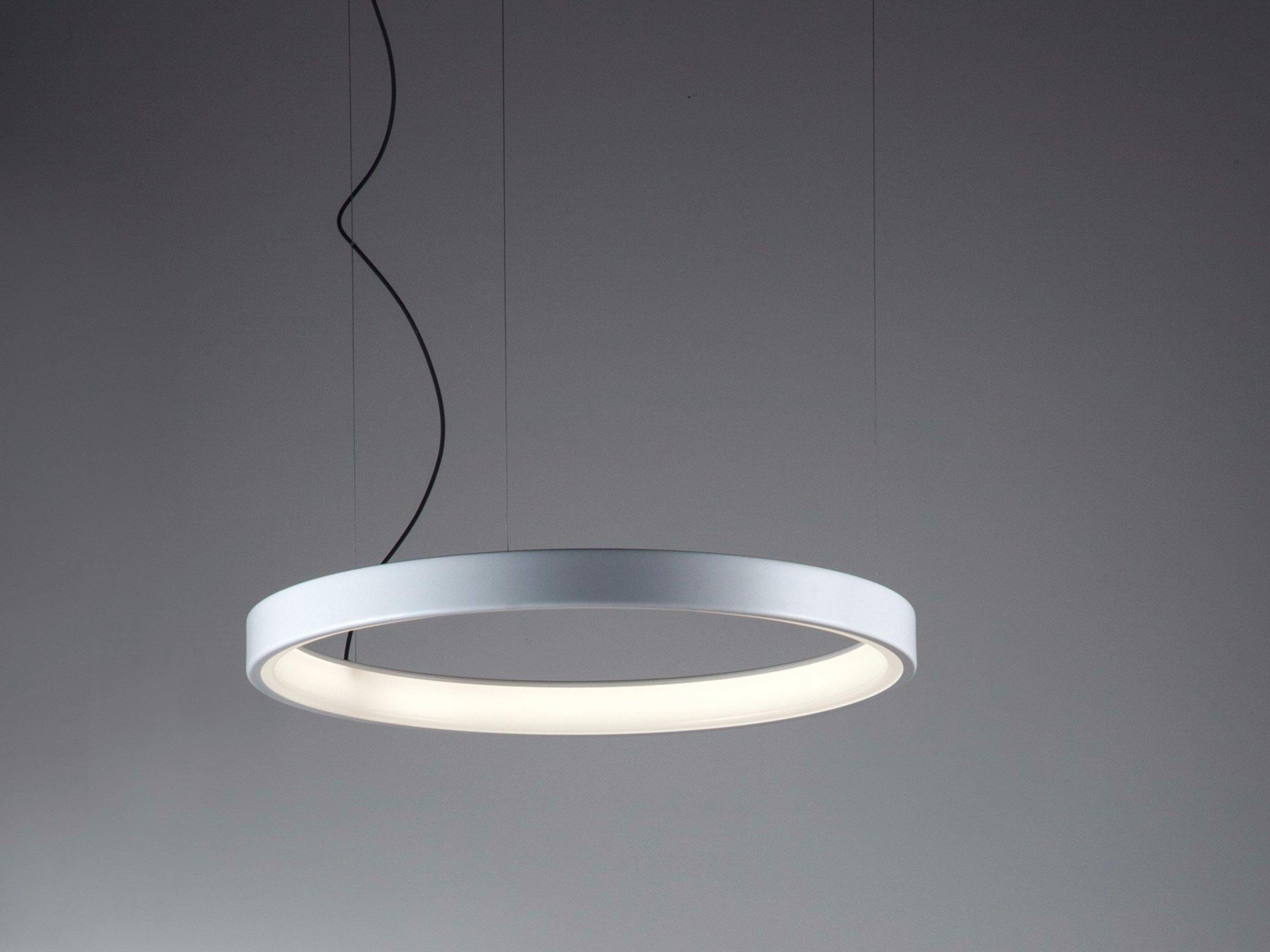 Lunaop lampada a sospensione by martinelli luce design for Lampadari luce led