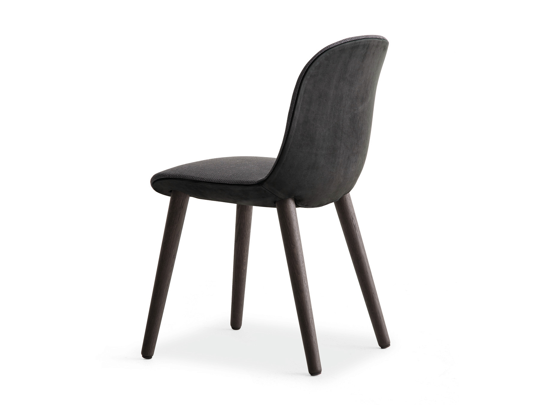 Sedia imbottita in tessuto mad dinning chair poliform for Poliform sedie