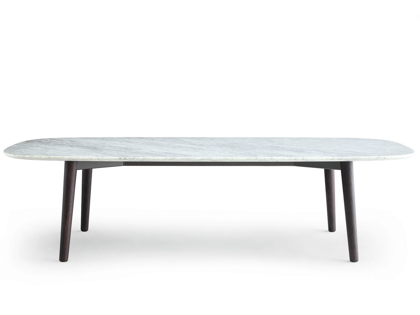 Table rectangulaire en marbre mad dining table collection for Table en marbre