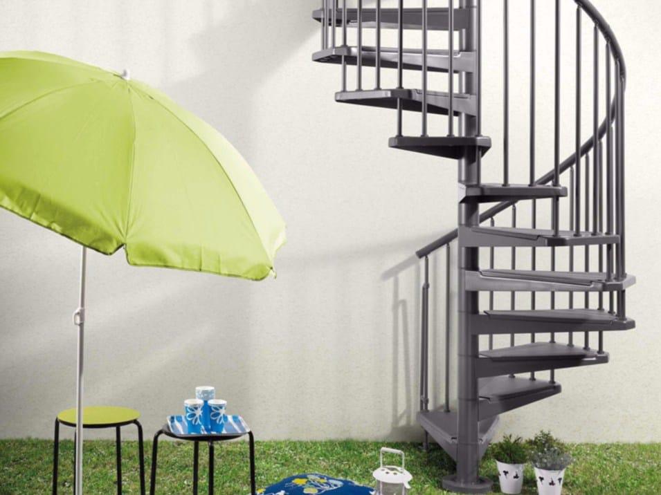 escalier en colima on en acier en kit magia 50 by fontanot spa. Black Bedroom Furniture Sets. Home Design Ideas