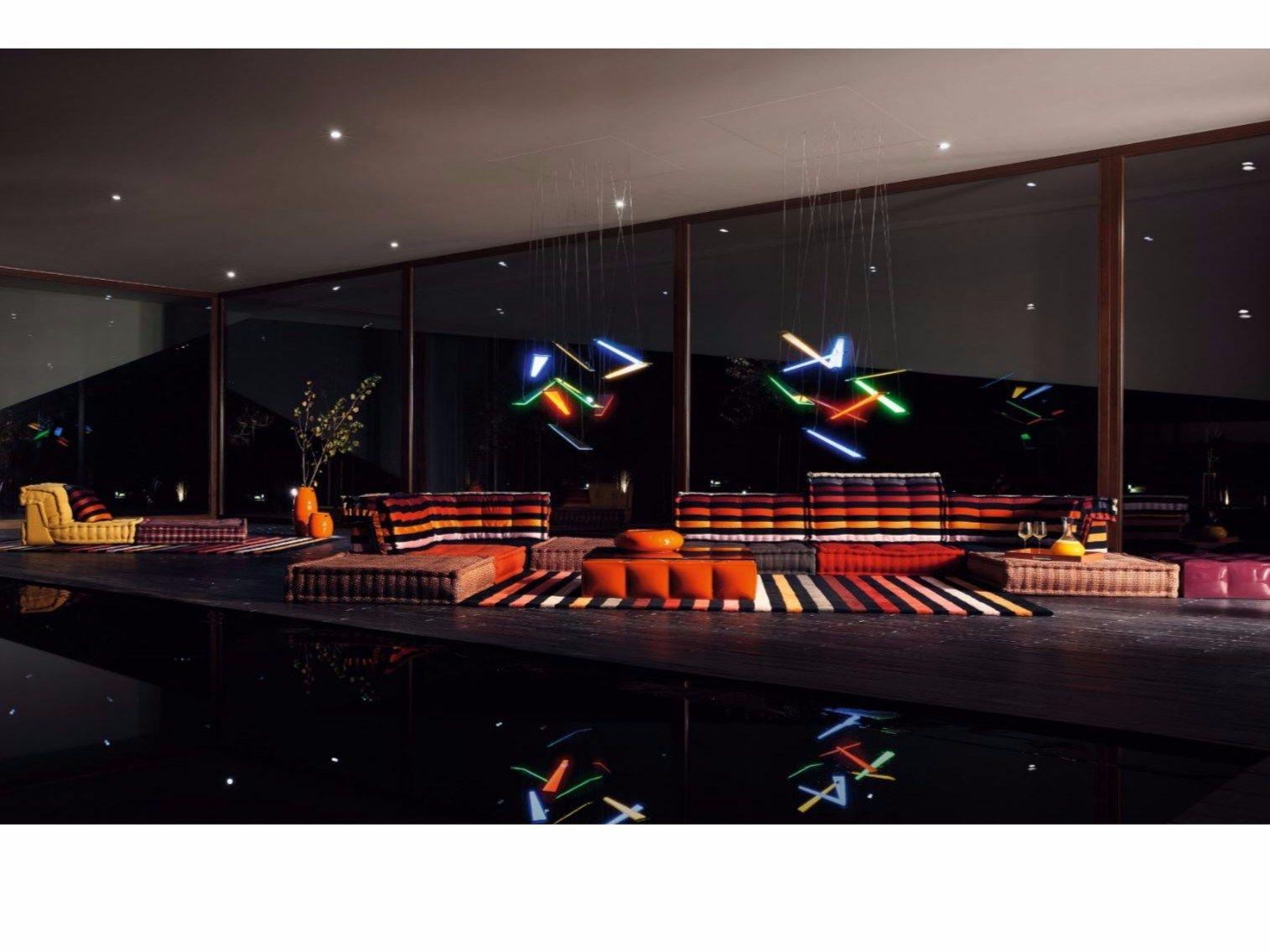 Sectional Modular Sofa Mah Jong Sonia Rykiel By Roche