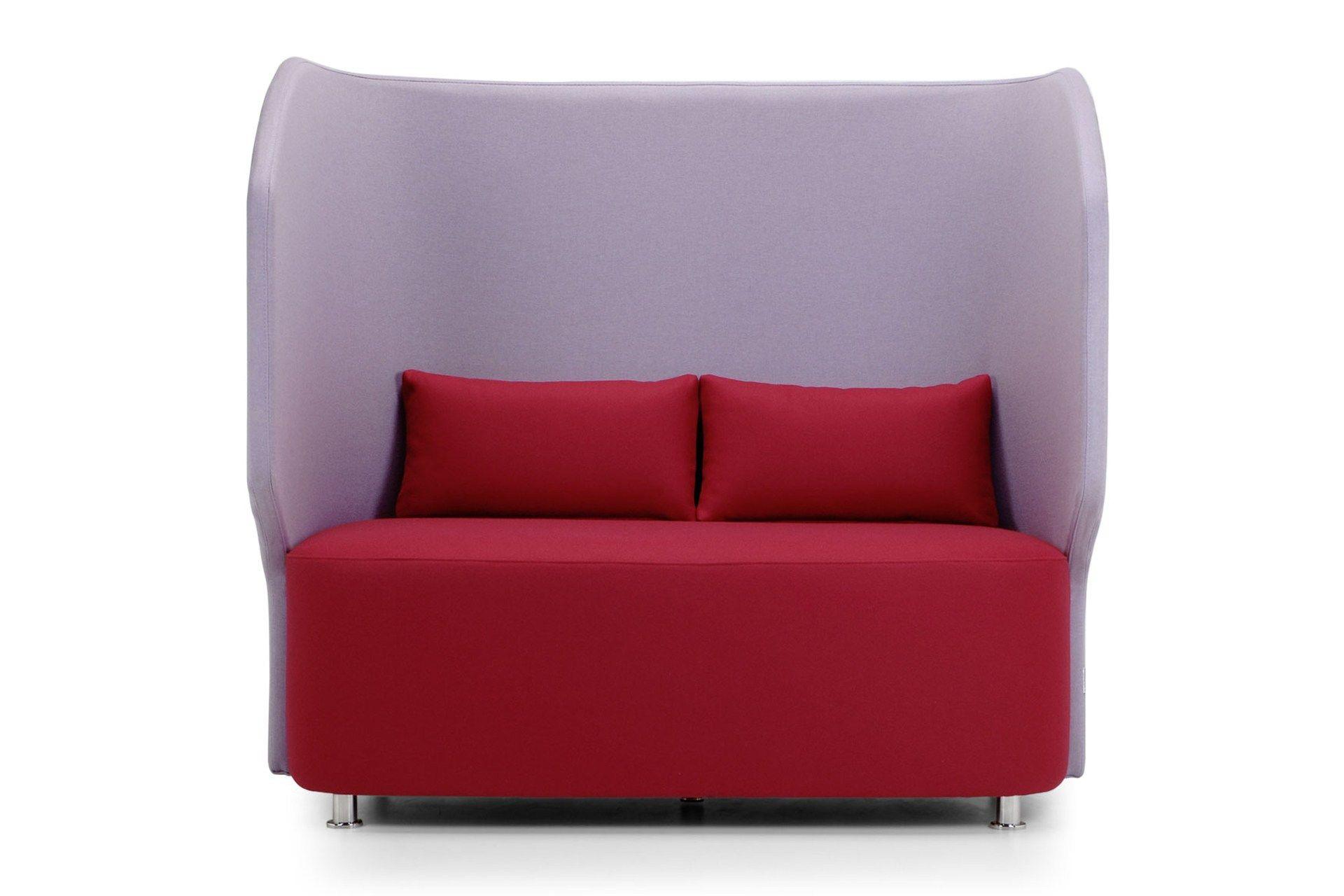Maji divano con schienale alto collezione maji by adrenalina design setsu shinobu ito - Divano schienale alto ...