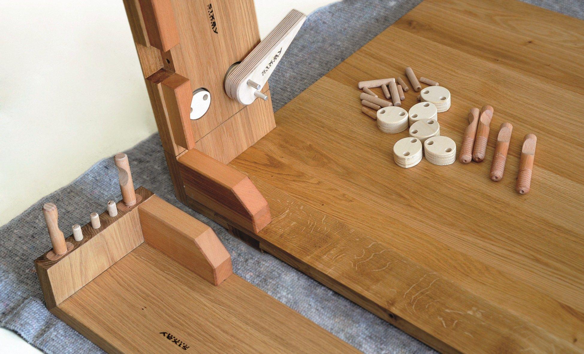 Mamma bett aus holz by sixay furniture design laszlo szikszai
