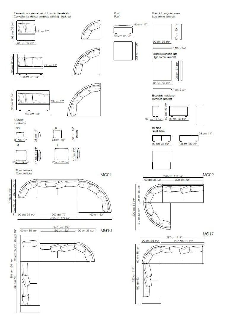 Divano Angolo Dwg ~ Idee per il design della casa