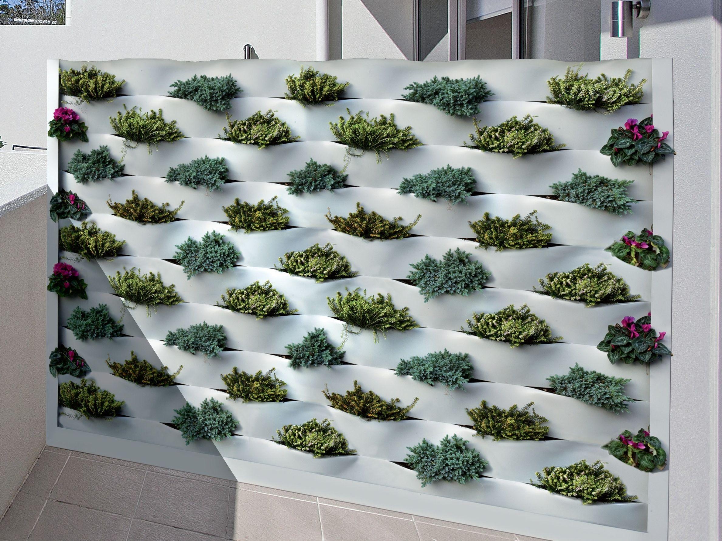 Giardino Verticale Per Esterno Marinelli System By Fils