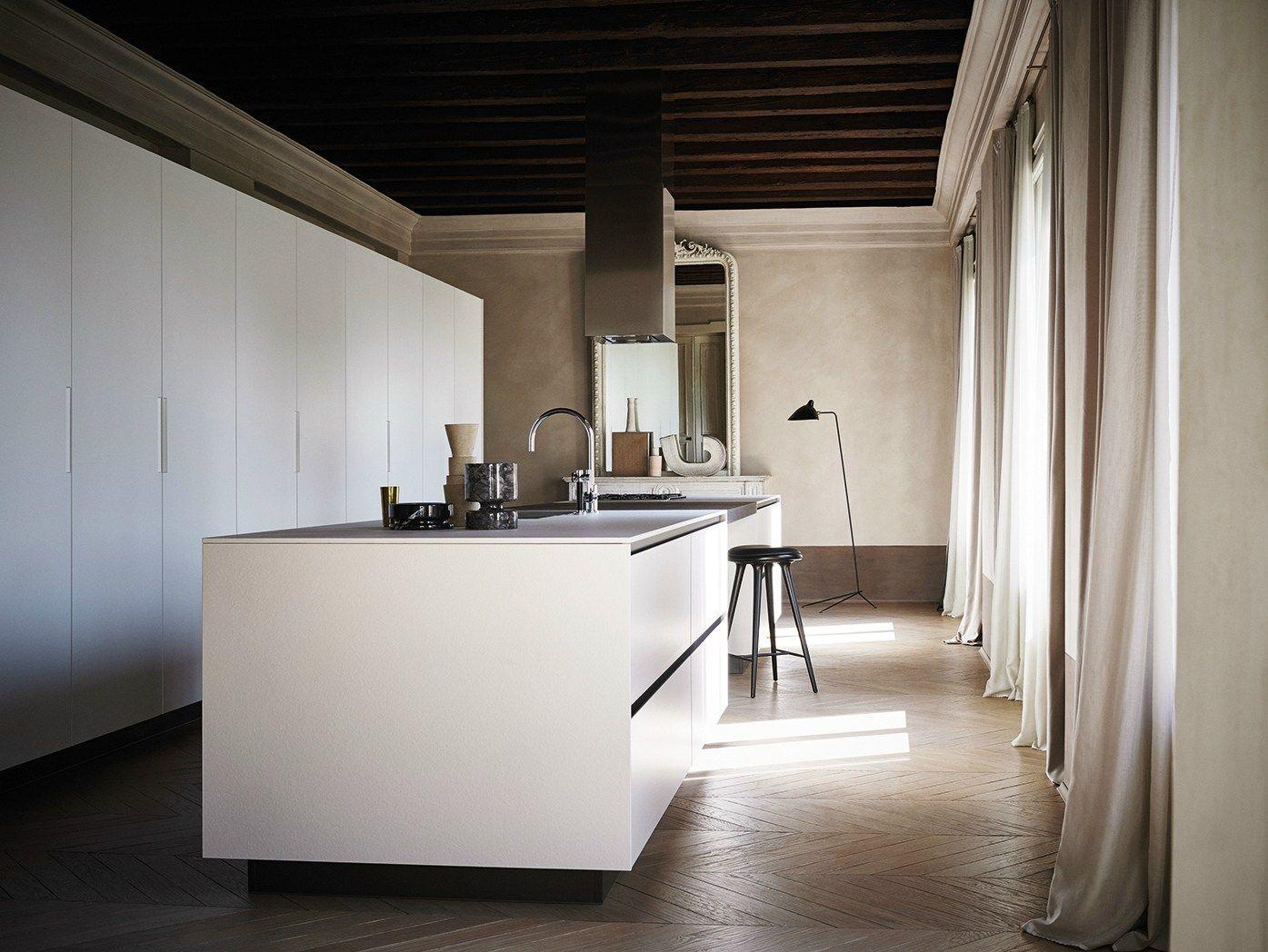 Einbauküche Kücheninsel ~ einbauküche mit kücheninsel aus estocktes feinsteinzeug