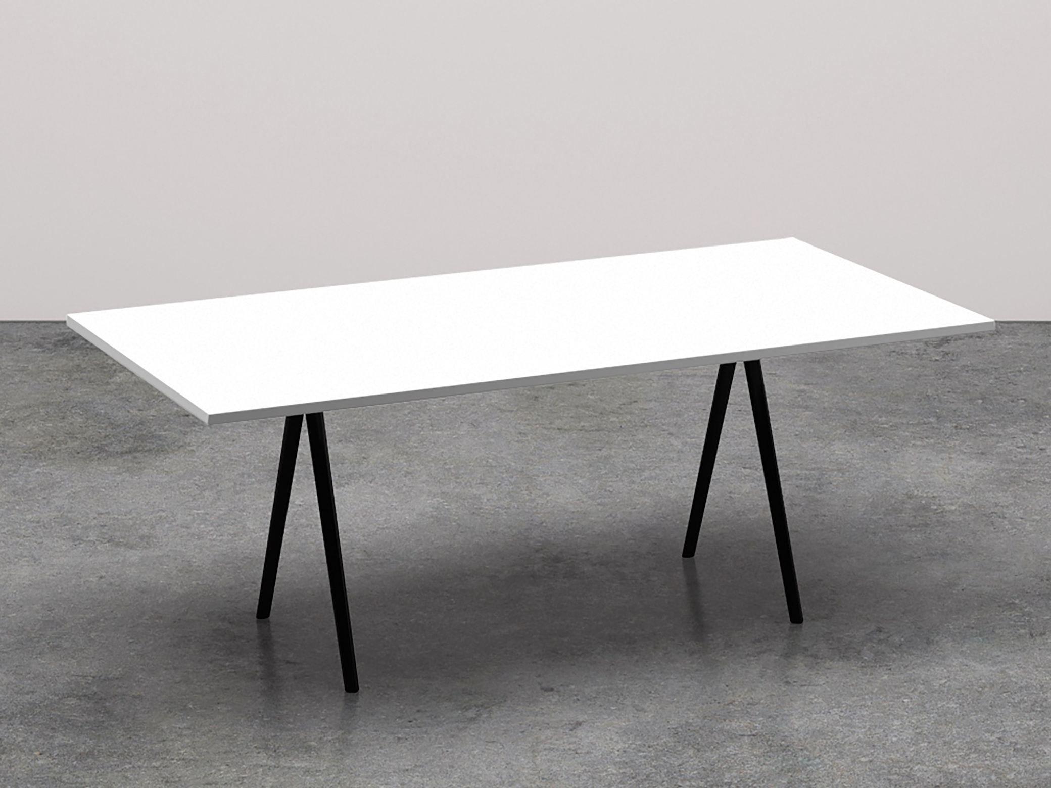 Meety tavolo da riunione rettangolare collezione meety by for Tavolo rettangolare design