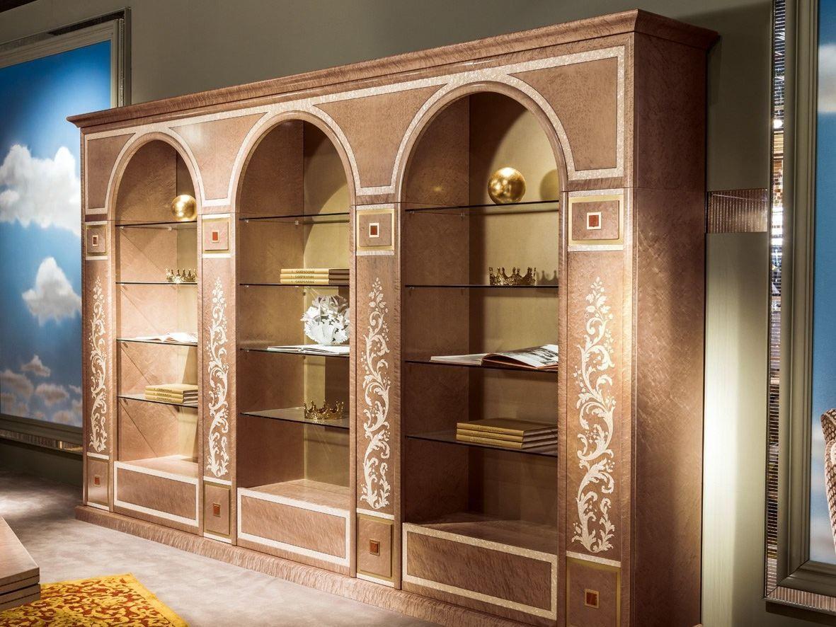 Libreria in legno collezione metamorfosi by carpanelli classic - Carpanelli mobili ...