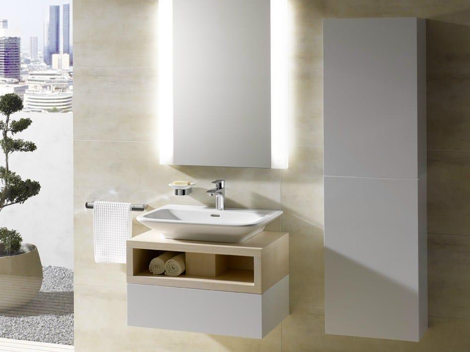 MH Piano lavabo in legno by TOTO