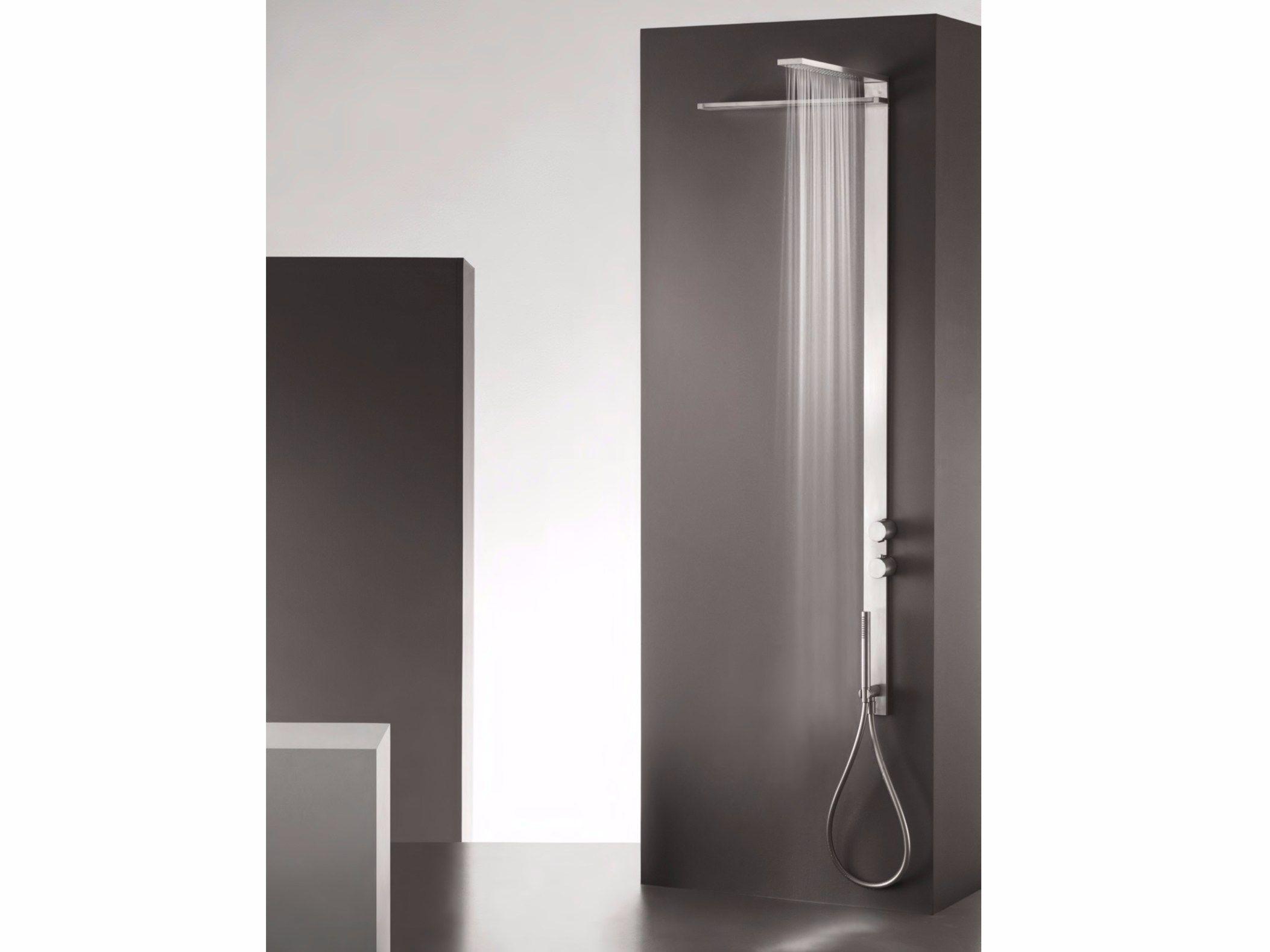 Pannello doccia cascata idee di design per la casa