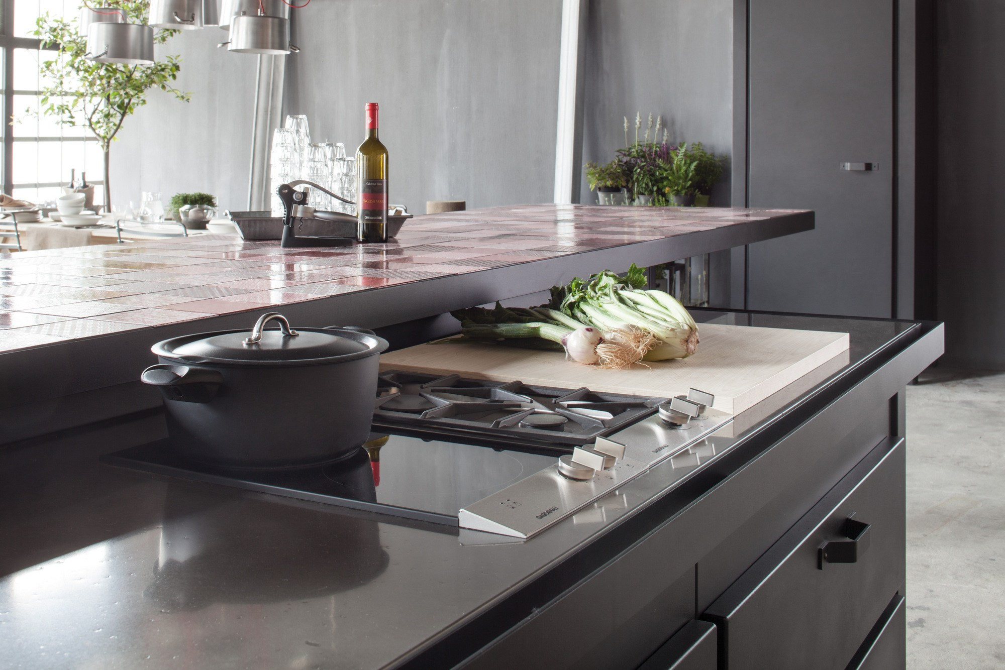 Min cucina by minacciolo - Top cucina pietra lavica ...