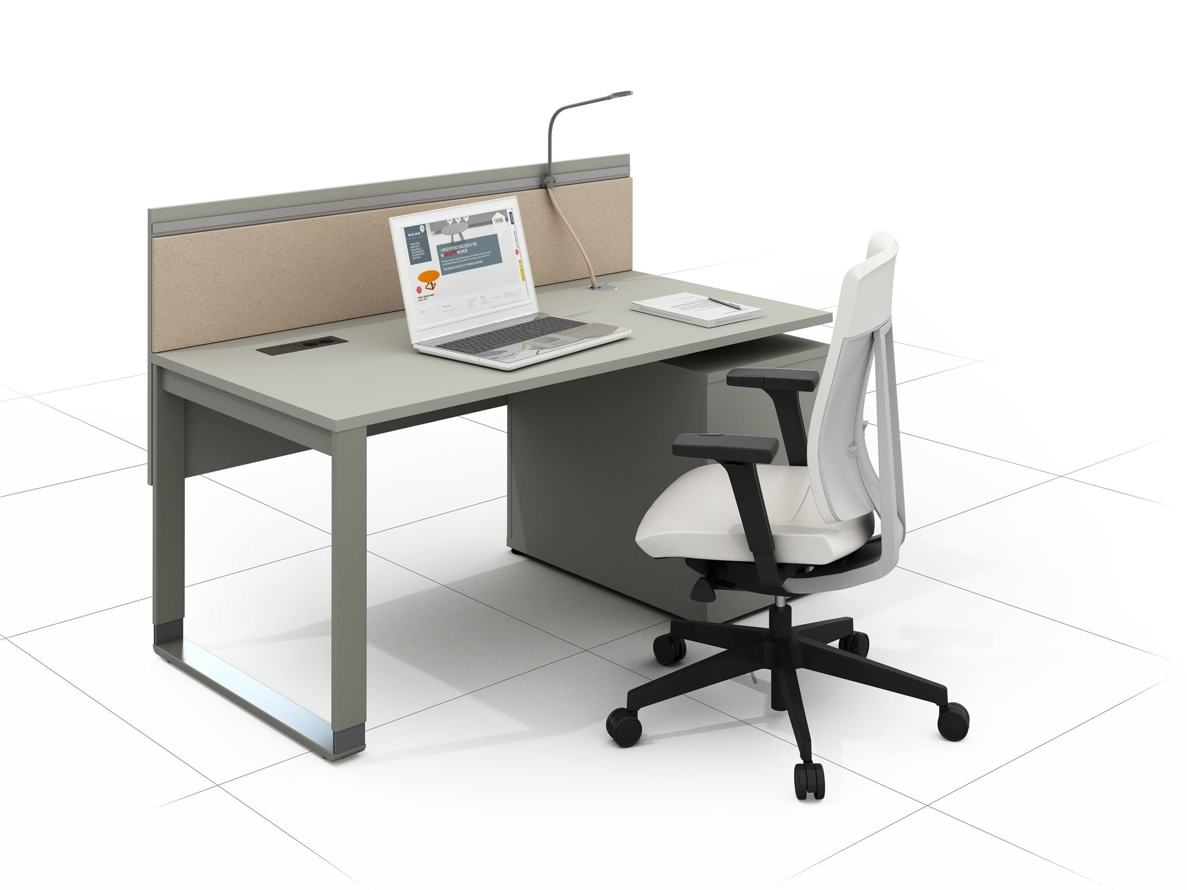 Mixt pro office workstation by balma for Bureau workstation