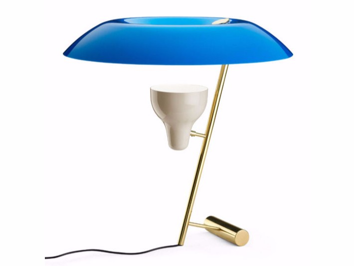 Lampada da tavolo a led a luce indiretta mod 548 by flos for Lampada da tavolo design flos