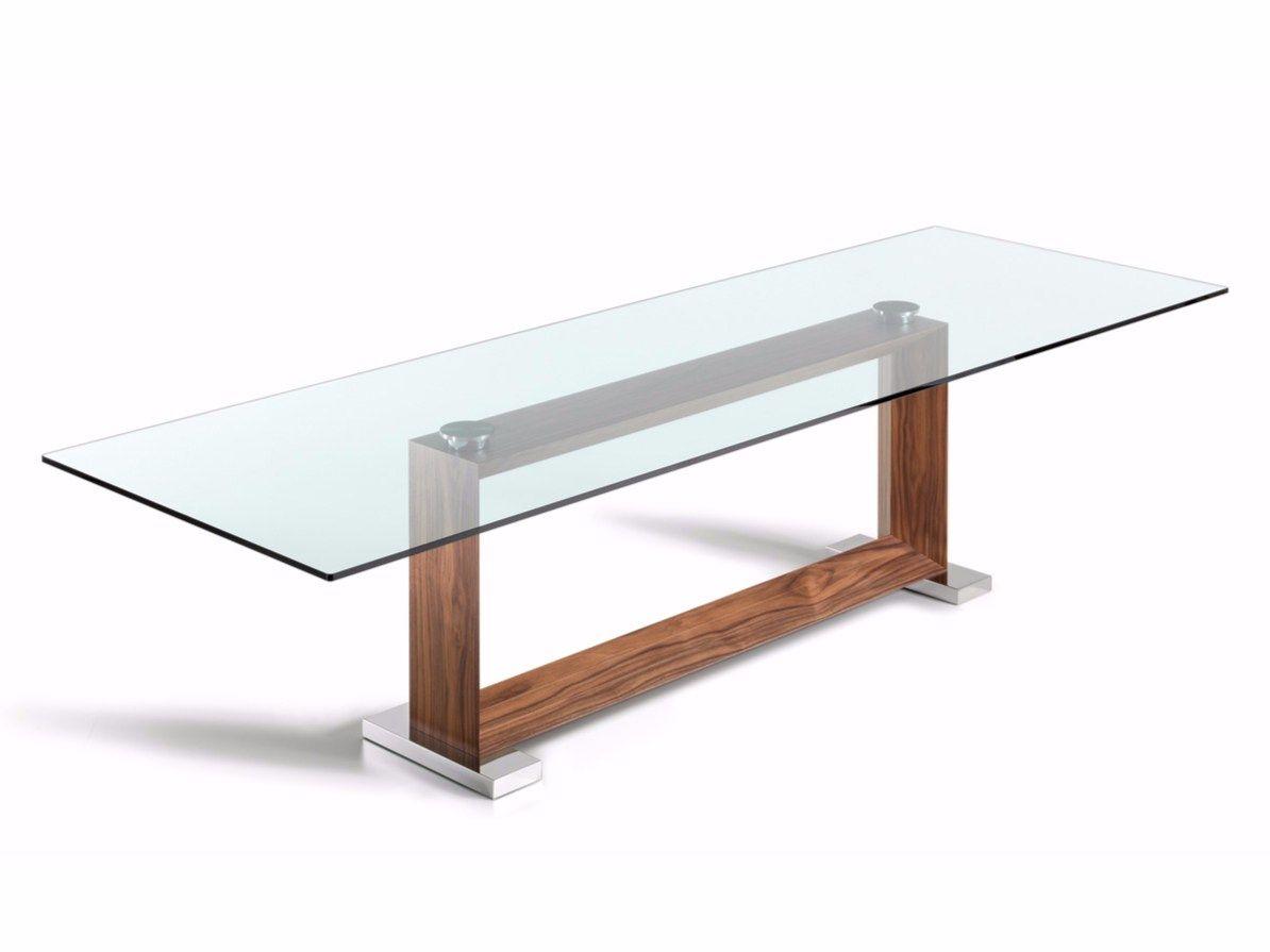 Monaco tavolo by cattelan italia design giorgio cattelan - Base per tavolo cristallo ...