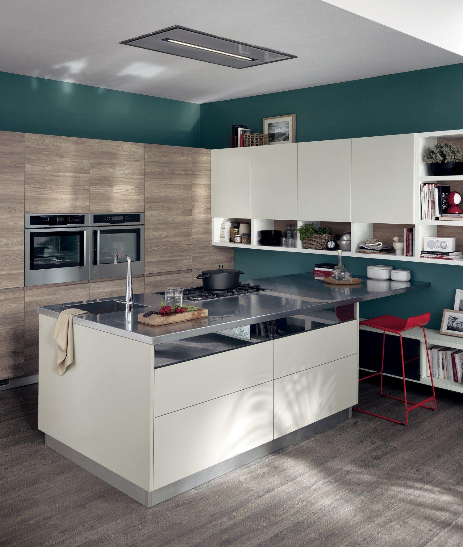 Fitted Kitchen Kitchen Design Specialists: Fitted Kitchen MOTUS Scavolini Line By Scavolini Design