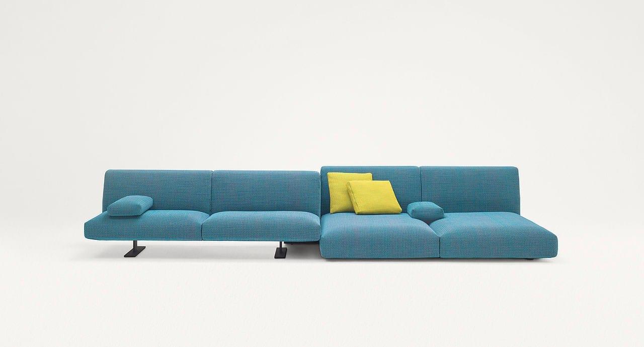 Modular sofa move by paola lenti design francesco rota for Paola lenti