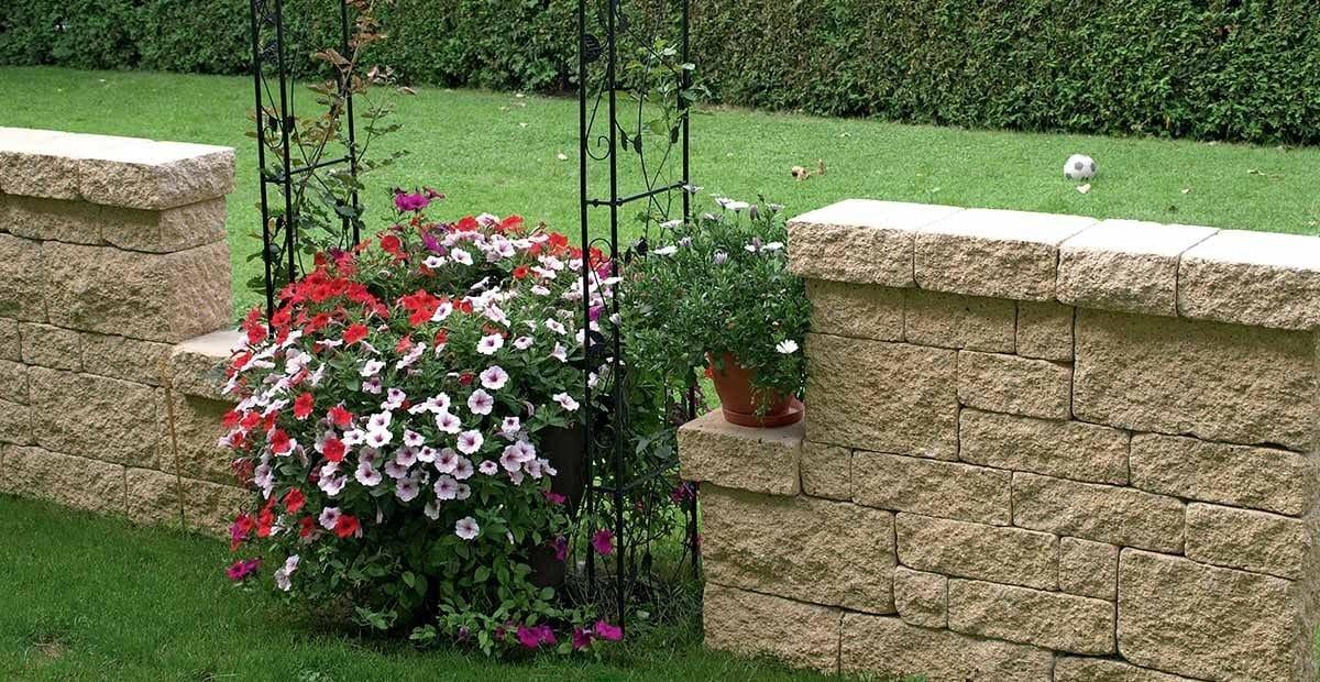 Muretti in calcestruzzo effetto pietra muro antico by - Muretti per giardino ...