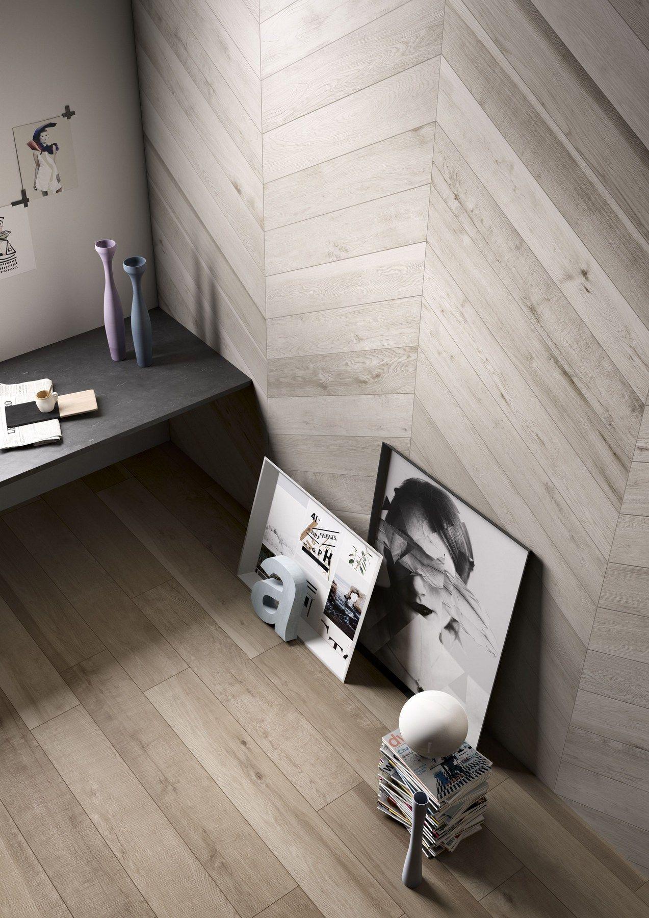 Wand  und bodenbelag aus ganzkörper feinsteinzeug mit holz effekt ...