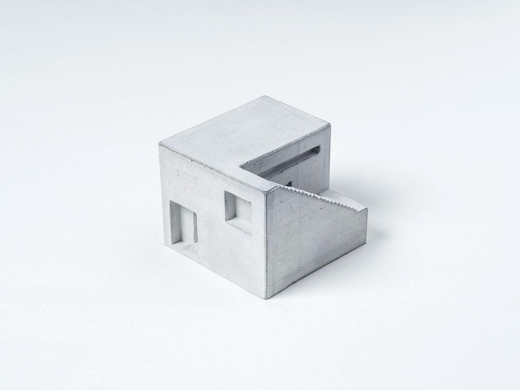 Modellino architettonico in calcestruzzo miniature for Design architettonico gratuito