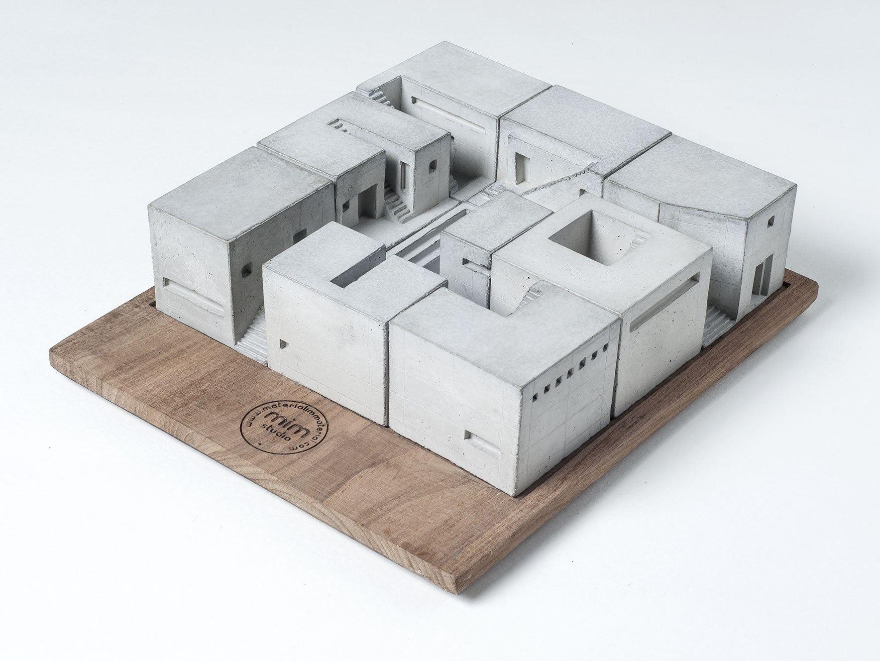 Concrete Architectural Model Miniature Homes