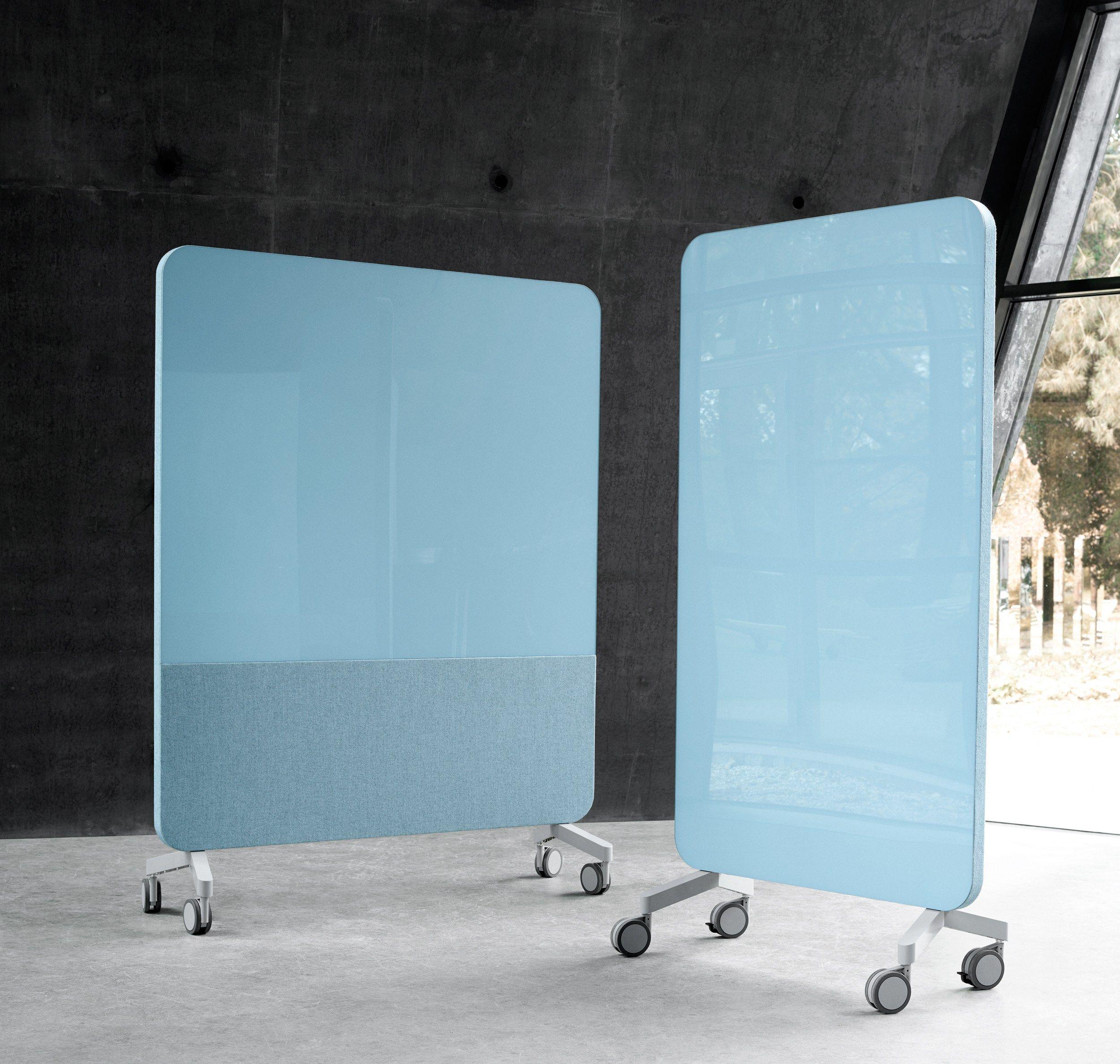 tableau blanc magn tique roulettes mood fabric mobile by lintex design matti klenell. Black Bedroom Furniture Sets. Home Design Ideas