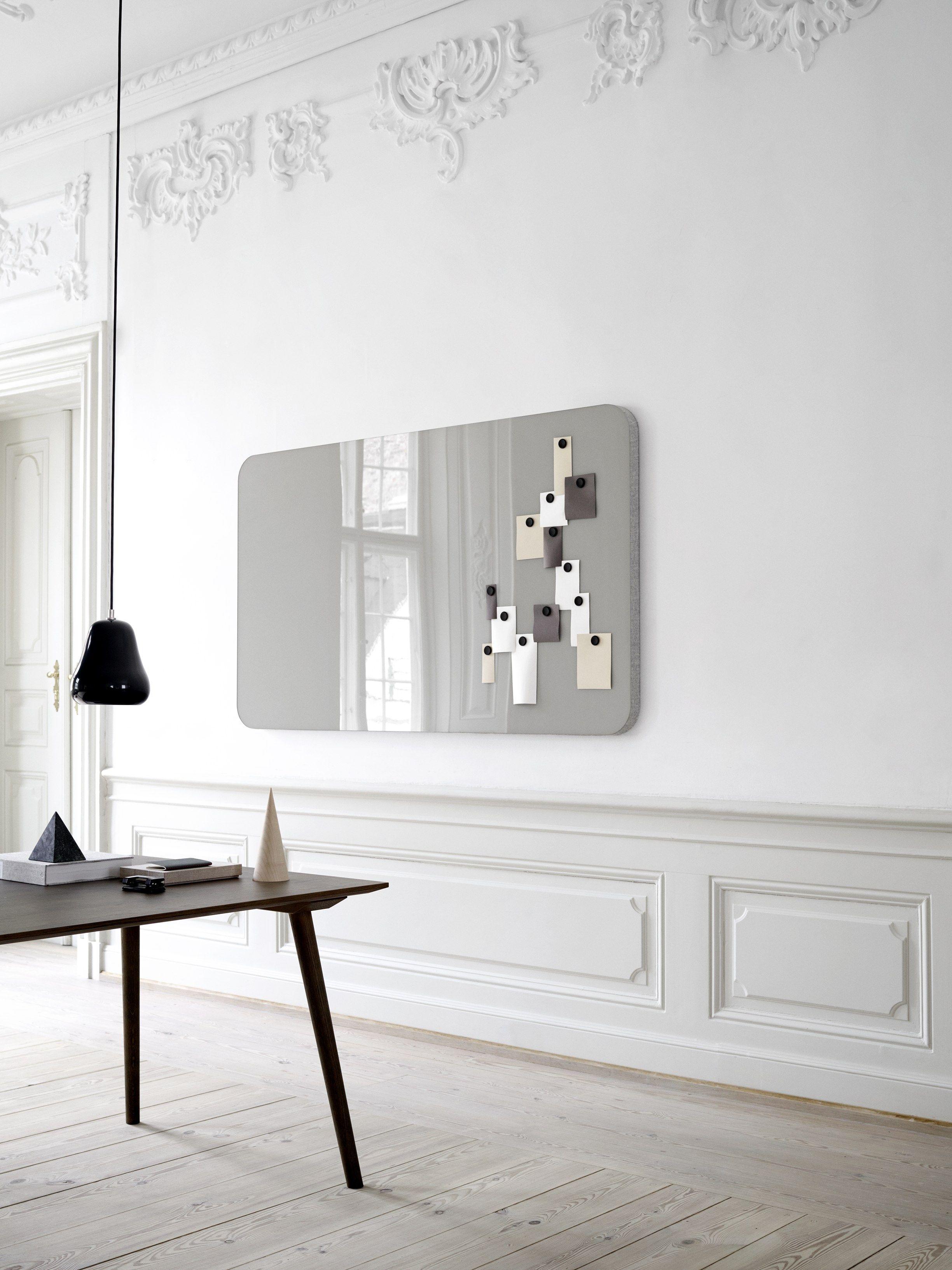 Lavagna per ufficio magnetica a parete mood fabric wall by lintex ...