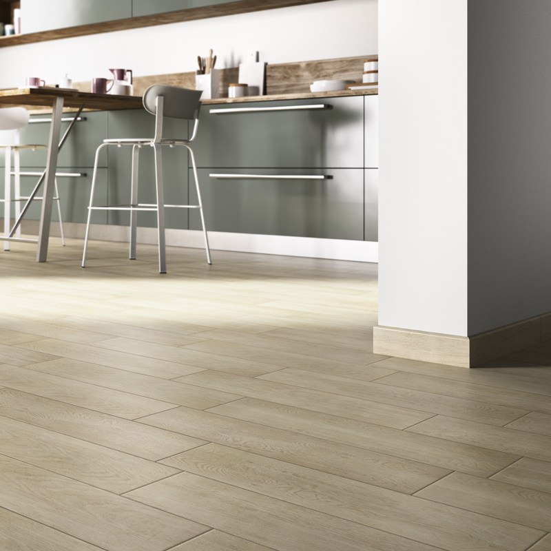 Pavimento de gres porcelánico esmaltado imitación madera NATURE by ...