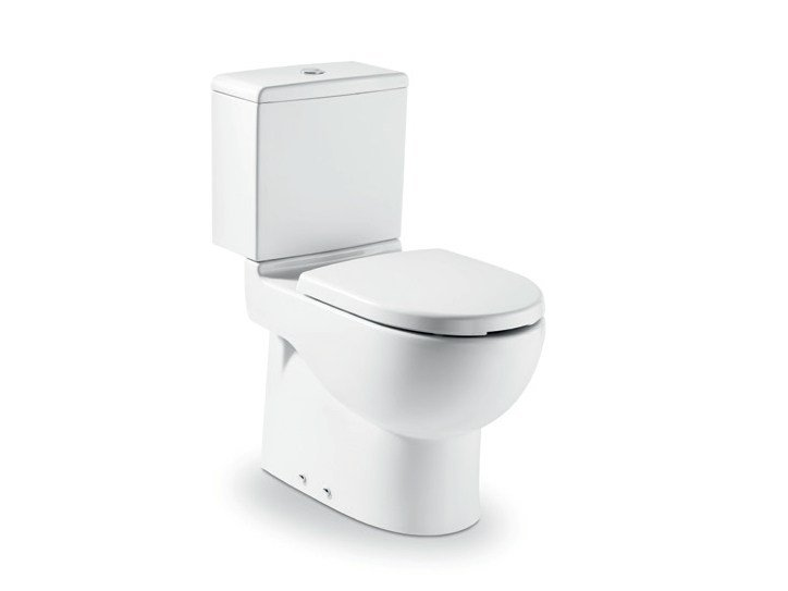 New meridian toilet for disabled by roca sanitario for Wc roca meridian