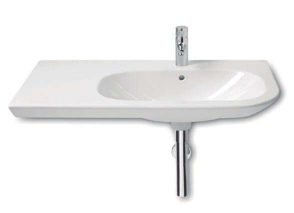 nexo lavabo con piano by roca sanitario. Black Bedroom Furniture Sets. Home Design Ideas