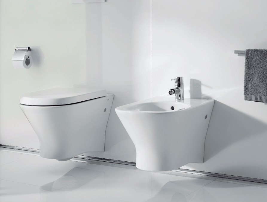 nexo wall hung toilet by roca sanitario design antonio bullo