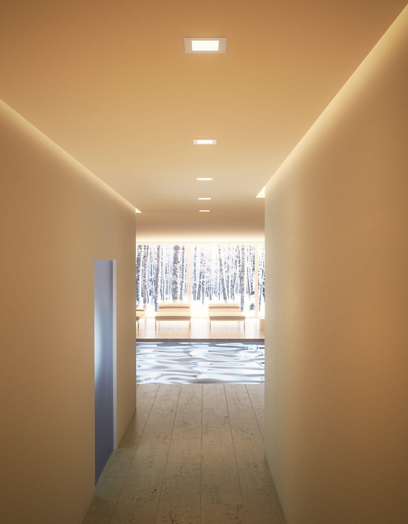 Nice light faretto da incasso by olev by clm illuminazione