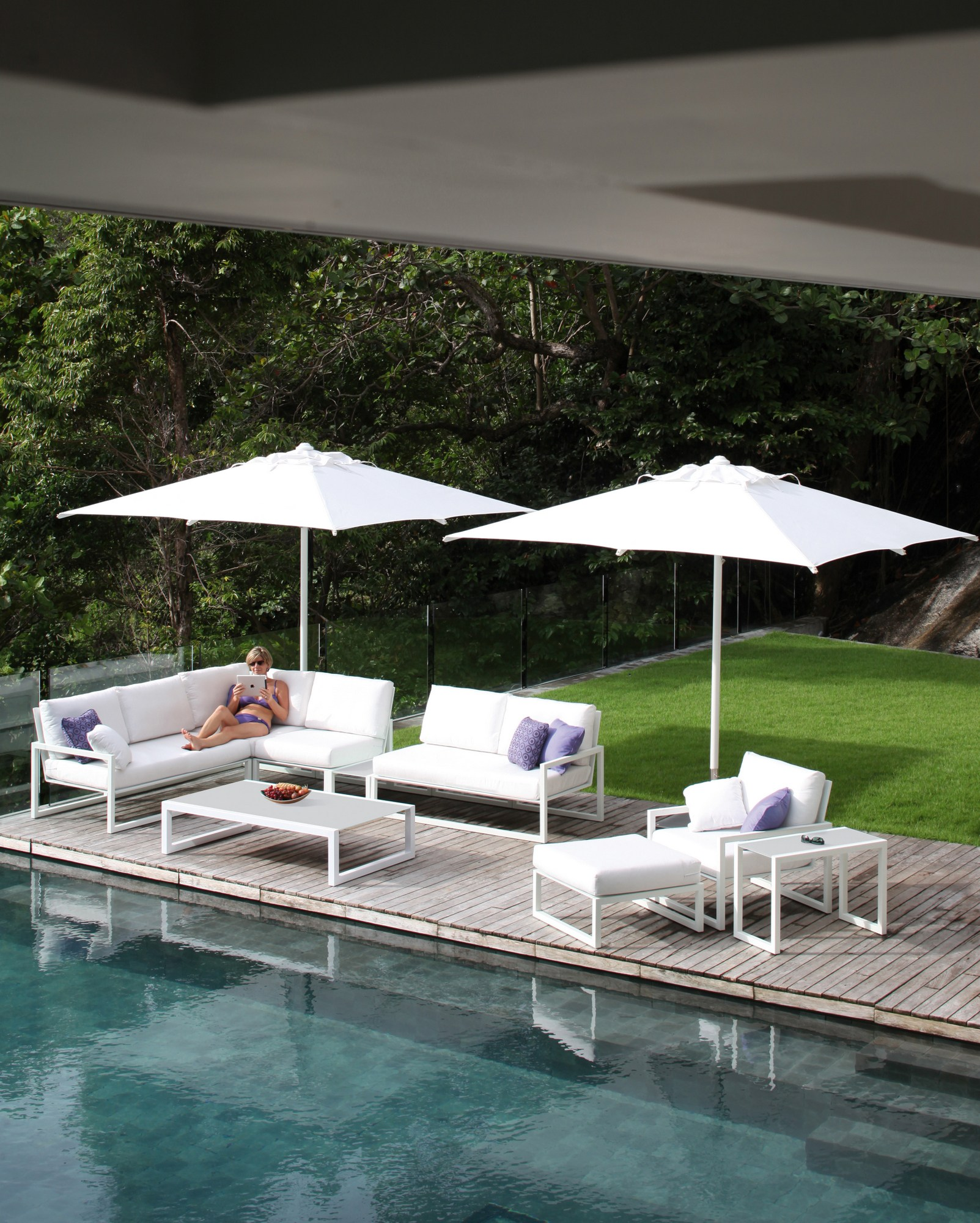 ninix rectangular coffee table ninix collection by royal botania design kris van puyvelde