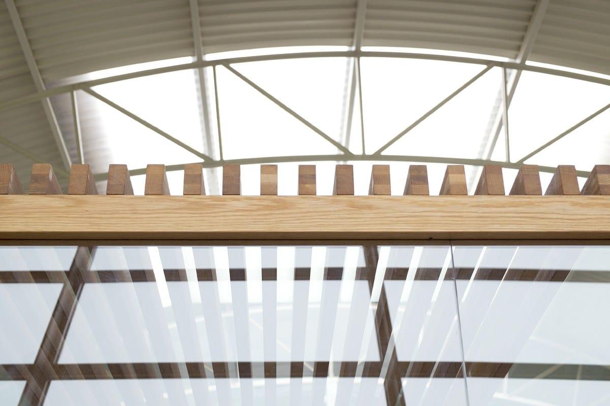 Nodoo wooden ceiling by nodoo - Falso techo madera ...